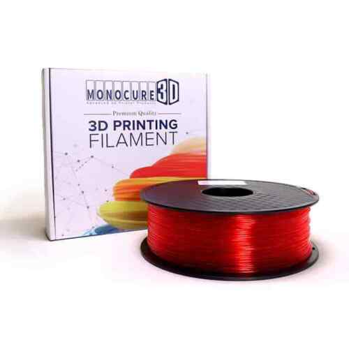 Transparent PLA - Red (AU Stock, Direct from M3D HQ)