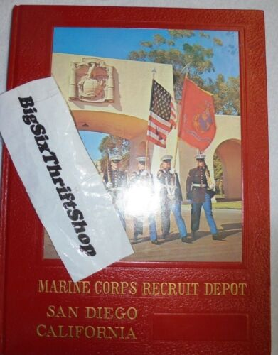 Marine Corps RECRUIT DEPOT MCRD San Diego 1972 Yearbook 2067 Fox CompanyOther Militaria - 135