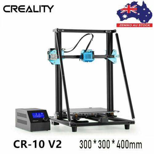 AU Creality CR-10 V2 3D Printer 300X300X400mm Silent Motherboard Auto Leveling