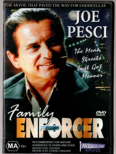 FAMILY ENFORCER - DVD- REGION-ALL- NEW AND SEALED-FREE POST WITHIN AUSTRALIA