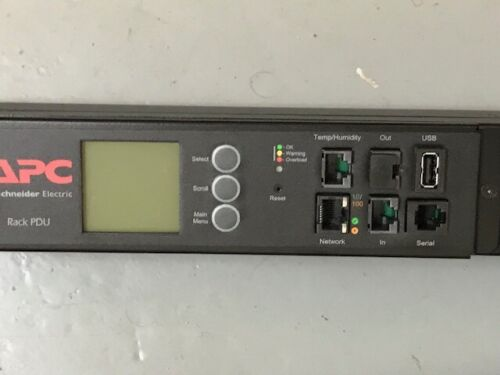 APC AP8886 METERED RACK (PDU) POWER DISTRIBUTION UNIT