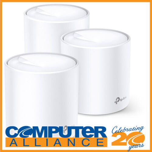 TP-Link Deco X20 3 Pack Wireless-AX1800 Whole Home Mesh System