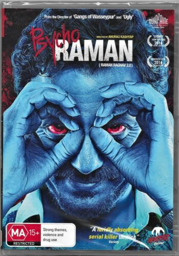 Psycho Raman (DVD, 2016)(A Monster Pictures Film)Region 4 Free Post
