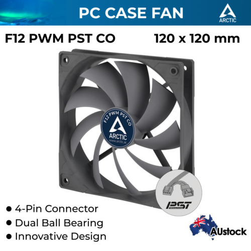Cooling Fan Silent Fan 120mm with PWM for Computer PC Case Cooler Ultra Quiet