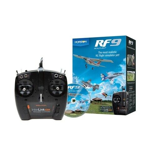 RF9 Flight Simulator with Spektrum Controller (RFL1100) Mode 1 or 2 Switchable S