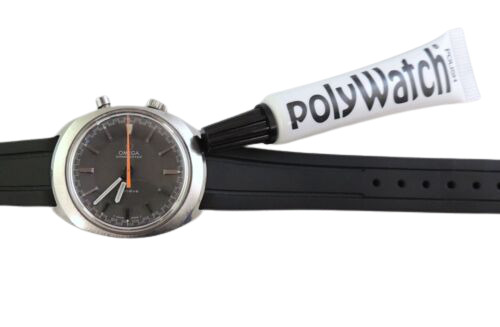 POLYWATCH watch repair polish for plastic glasses my omega