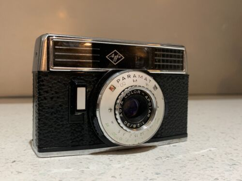 AGFA PARAMAT  Vintage CAMERA MANUAL from 1960s- Genuine Case, Made In Germany