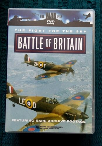 BATTLE OF BRITAIN- THE FIGHT FOR THE SKY - DVD- R-ALL- LIKE NEW- FREE POSTAGE