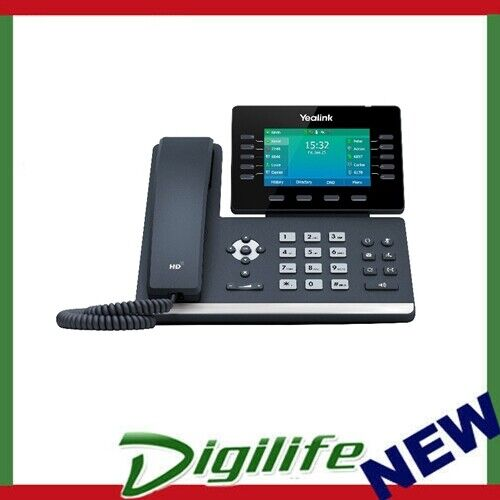 """Yealink T54W, 16 Line IP HD Phone, 4.3"""" 480 x 272 colour screen, HD voice"""