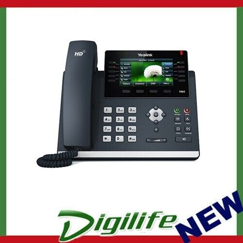 """Yealink T46S 4.3"""" color wiht backlight 16 SIP IP Phone, USB2.0 and PoE"""