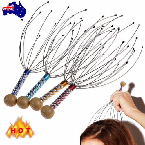 Stress Release Tip Head Neck Scalp Massager Massage Octopus Equipment Relax Tool