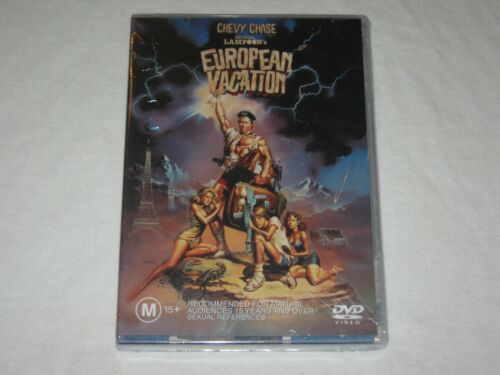 National Lampoon's European Vacation - Brand New & Sealed - Region 4 - DVD