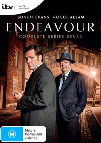 ENDEAVOUR Complete Series 7 : NEW DVD