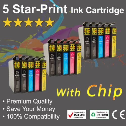 15 Ink Cartridges for Epson 29XL XP235 XP245 XP335 XP432 XP435 XP442 with chips
