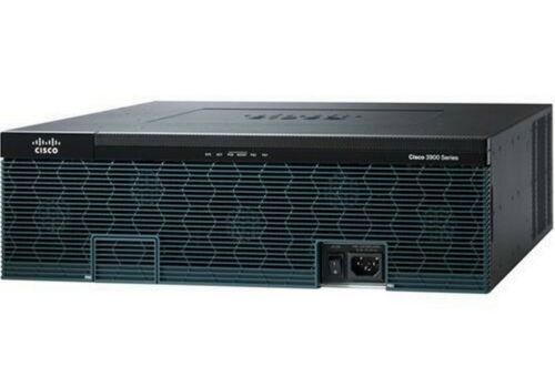 Cisco 3925 Series CISCO3925E/K9 Integrated Services Router New C3900-SPE200/K9