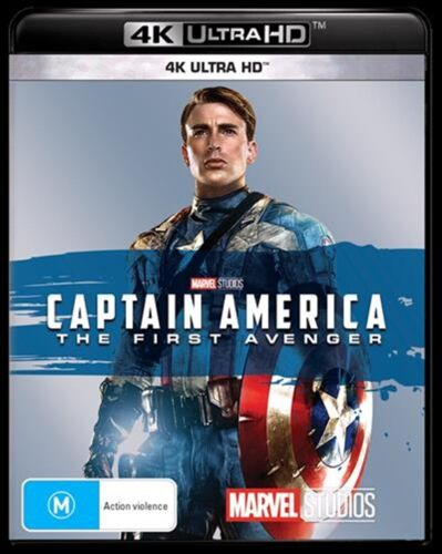Captain America - The First Avenger : NEW 4K ULTRA HD Blu-Ray