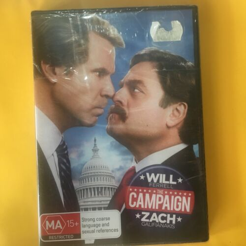 THE CAMPAIGN - DVD - WILL FERRELL - R4 - NEW SEALED - FREE POST
