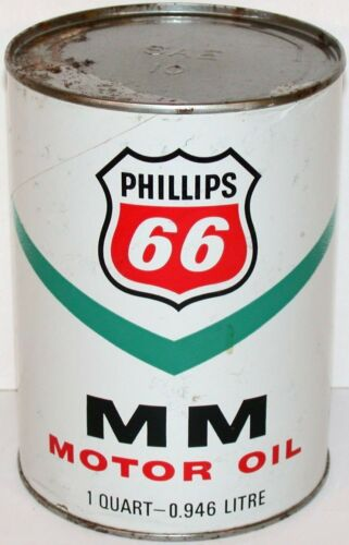older Phillips 66 2 cycle engine Oil Can8 oz NOS NEW SEALED UNOPENED snowmobile