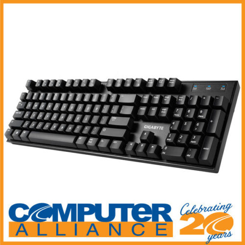 Gigabyte FORCE K81 Mechanical Keyboard Kailh Red Switches PN GK-FORCE-K81-R