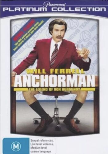 Will Ferrell ANCHORMAN The Legend of Ron Burgundy BRAND NEW SEALED R4