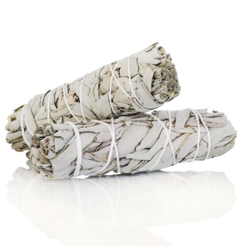"""100% PURE WHITE SAGE Smudge Stick - 6"""" 4"""" (9-10cm) Spiritually Cleansing Wand <br/> Fast Dispatch ☆ AU Stock ☆ Pure White Sage"""