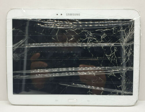 Samsung Galaxy Tab 3 10.1 Wifi 16GB GT-P5210 Crack screen/SOLD AS IS/Android 4.4