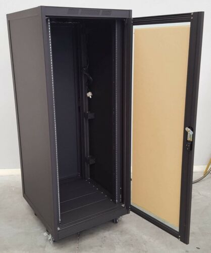 """19"""" 30U x 560mm length RACKMOUNT CABINET with 2 removable lock doors"""