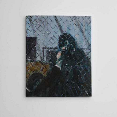 """16X20"""" Gallery Art Canvas Francis Bacon Modern """"Emotionally Charged Raw Imagery"""""""