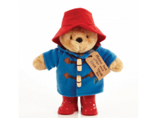Paddington Bear with Boots and Embroidered Jacket