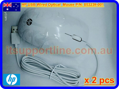 2 x HP USB Mouse Merapi 3-Button P/N: 853239-001 - itsupportline