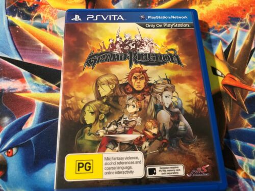 PS Vita Grand Kingdom Game (OZ SELLER) FAST POST! AUS