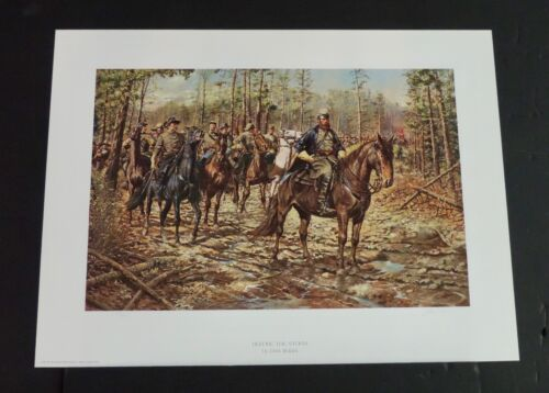 Don Troiani - Before The Storm - Mint - Collectible Civil War Print