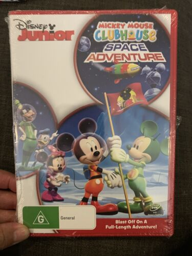 Mickey Mouse Clubhouse: Space Adventures  - DVD - NEW Region 4