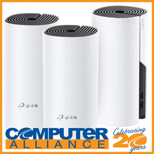 TP-Link Deco M4 3 Pack Whole-Home Mesh Wireless-AC1200 System