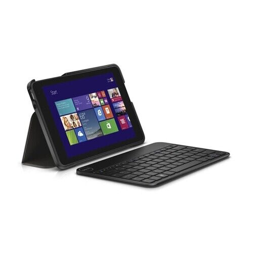 New Genuine Dell Wireless Keyboard & Folio Case For Venue 8 Pro 5830 3845 8P8HP