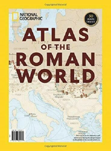 National Geographic Special Atlas of the Roman World - NEW