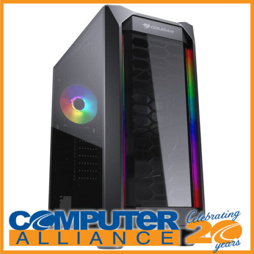 Cougar ATX MX410-T Mid Tower Case with Dual RGB Strips