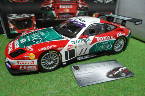 FERRARI 575 GTC SPA FRANCORCHAMPS 2004 #11 GIESSE GPC 1/18 KYOSHO 08393A voiture