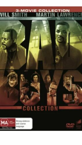Bad Boys 3 Movie Collection BRAND NEW R4 DVD