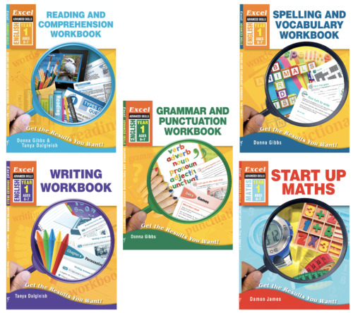 Excel Advanced Skills Exercise and Workbooks: ALL AGES, ALL YEAR GROUPS