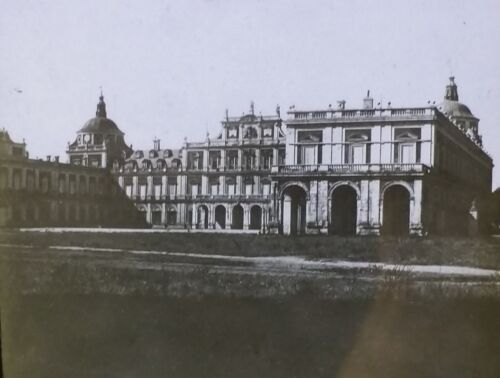 Palace of Aranjuez in Spain Antique Magic Lantern Glass Photo Slide