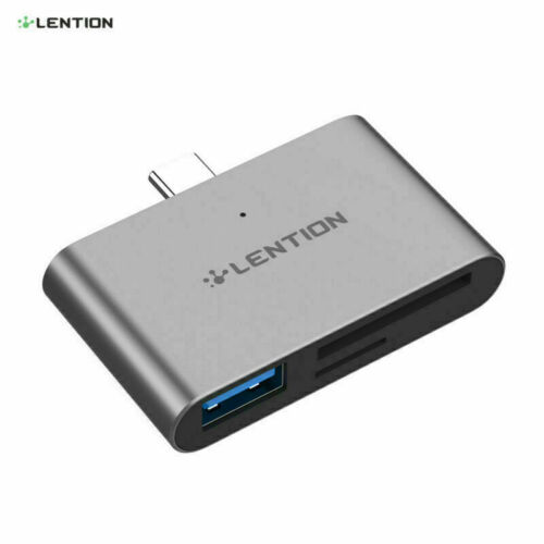 LENTION OTG USB-C to USB 3.0 Wireless Adapter SD Card Reader for New iPad Pro
