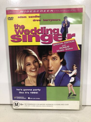 The Wedding Singer (DVD, R4) Adam Sandler, Drew Barrymore