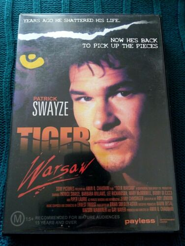 TIGER WARSAW - DVD- R-4, LIKE NEW, FREE POST WITHIN AUSTRALIA