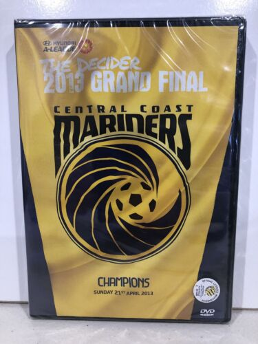 A-League 2013 Grand Final Central Coast Mariners (DVD,R4,2013) NEW In Plastic