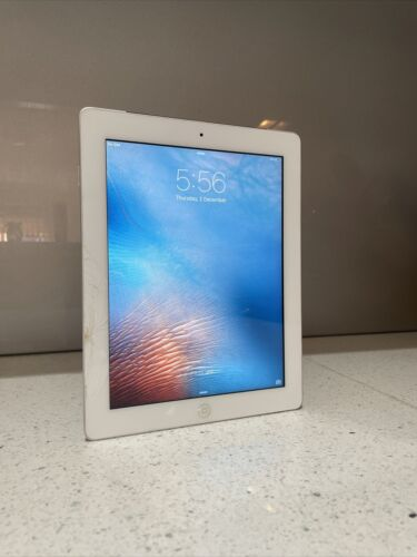 Apple iPad 2 16GB, A1396, Wi-Fi + Cellular 9.7in - White (AU Stock) #10/1