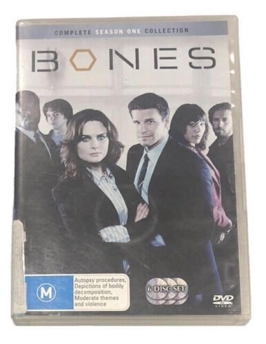 Bones : Season 1 (DVD, 2007, 6-Disc Set)
