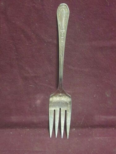 """Community Silverplate  Hampton Court COLD MEAT FORK  8 3/8"""""""