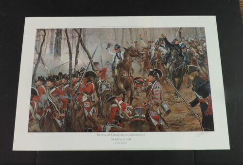 Don Troiani - Battle at Guilford Courthouse -  Revolutionary War Print