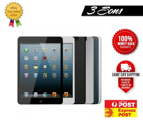 CHEAPEST Apple iPad Mini 1 1st Gen 16GB 32GB 64GB WiFi+Cellular, AU Seller